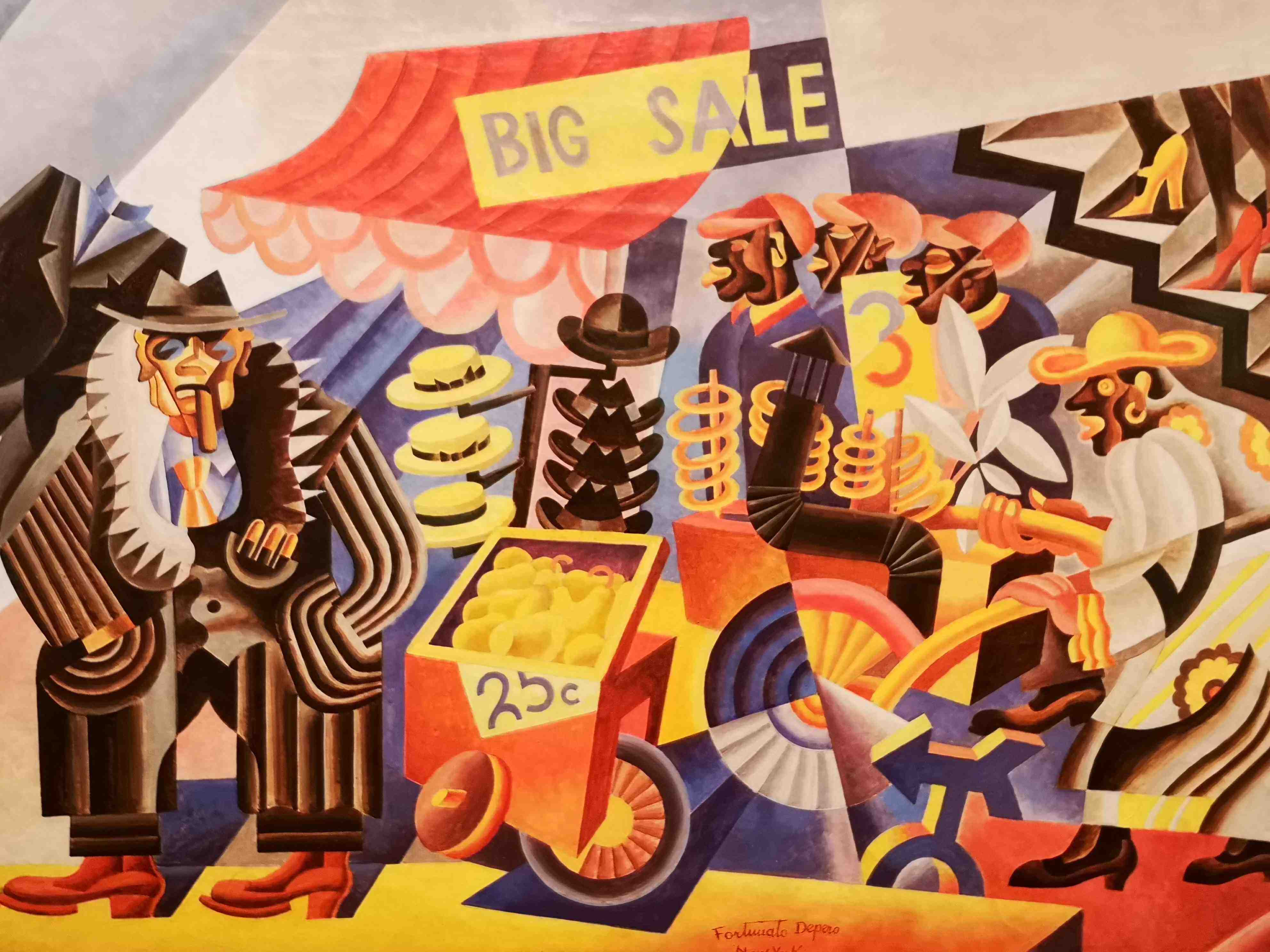 Fortunato Depero Big Sale