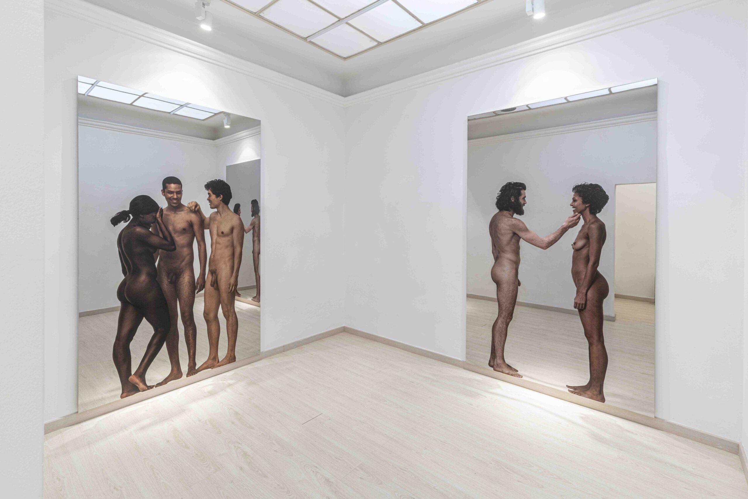 Michelangelo-Pistoletto-Messanudo-2020-vedute-della-mostra-Galleria-Continua-San-Gimignano