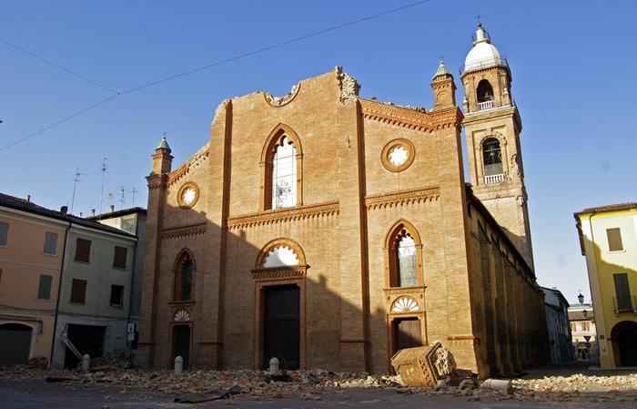 Terremoto Emilia Romagna 2012