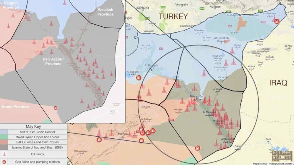 koniko_Oil fiels_Siria