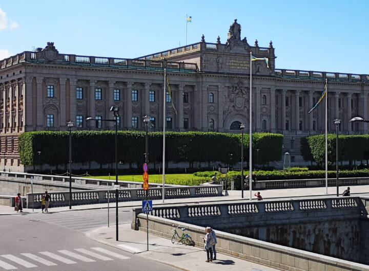 Il Parlamento a Stoccolma