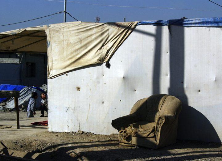 Bambini nei campi profughi